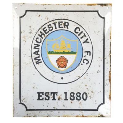 Манчестер Сити Эмблема ретро