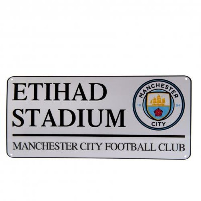 Манчестер Сити Уличная табличка
