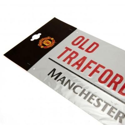 Манчестер Юнайтед Уличная табличка
