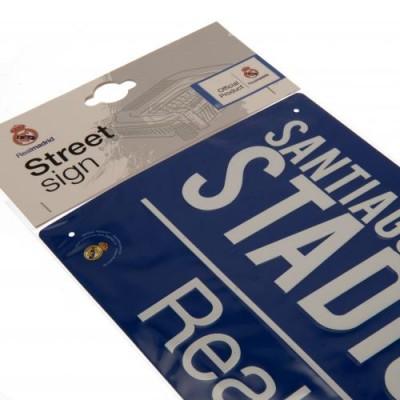 Реал Уличная табличка BL
