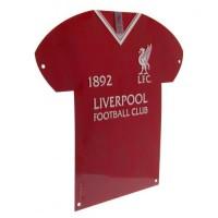 Ливерпуль Металлическая табличка-футболка LB