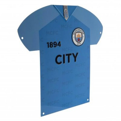 Манчестер Сити Металлическая табличка-футболка