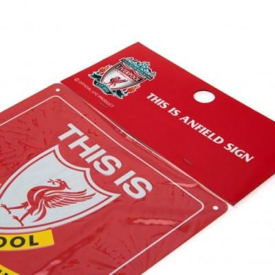 Ливерпуль Металлическая табличка This is Anfield