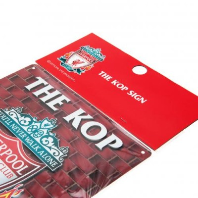 Ливерпуль Металлическая табличка The Kop