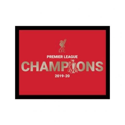 Ливерпуль Фотография Чемпионы Англии 8 x 6 Metallic