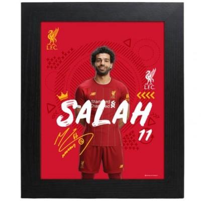 Ливерпуль Фотография Salah 10 x 8