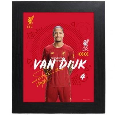 Ливерпуль Фотография Van Dijk 10 x 8