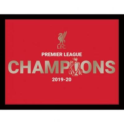 Ливерпуль Фотография Чемпионы Англии 16х12 Metallic
