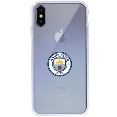 Манчестер Сити Чехол TPU для iPhone X