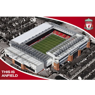 Ливерпуль Плакат Стадион 13