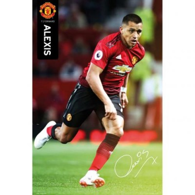 Манчестер Юнайтед Плакат Sanchez 55