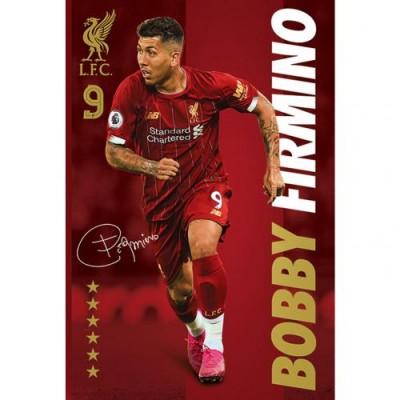Ливерпуль Плакат Firmino 35