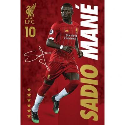 Ливерпуль Плакат Mane 36
