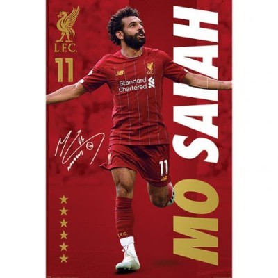 Ливерпуль Плакат Salah 8