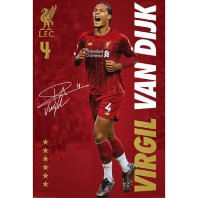Ливерпуль Плакат Van Dijk 14