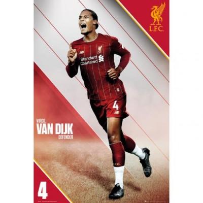 Ливерпуль Плакат Van Dijk 10