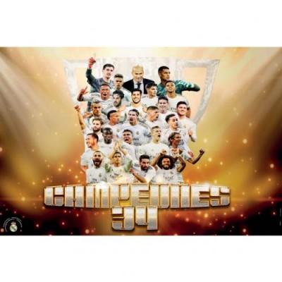 Реал Плакат Чемпионы 34