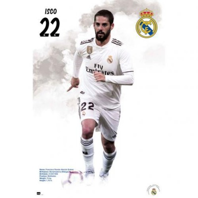 Реал Плакат Isco 59