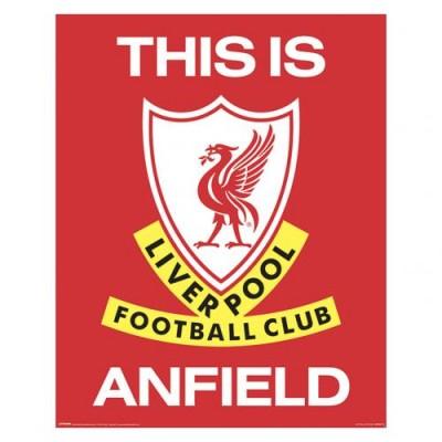 Ливерпуль Мини-плакат TIA 401