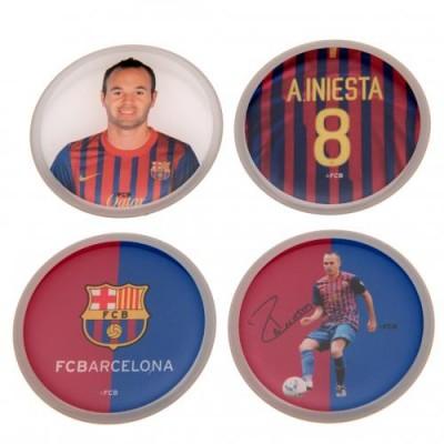 Барселона Набор 3D наклеек - Iniesta (4 шт.)