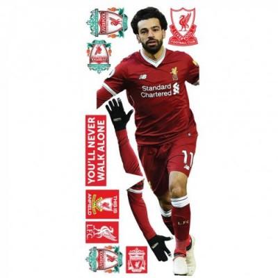 Ливерпуль Набор наклеек на стену Salah
